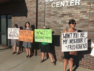 Scribner immigration protest