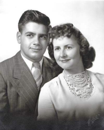 Bonacci and wife
