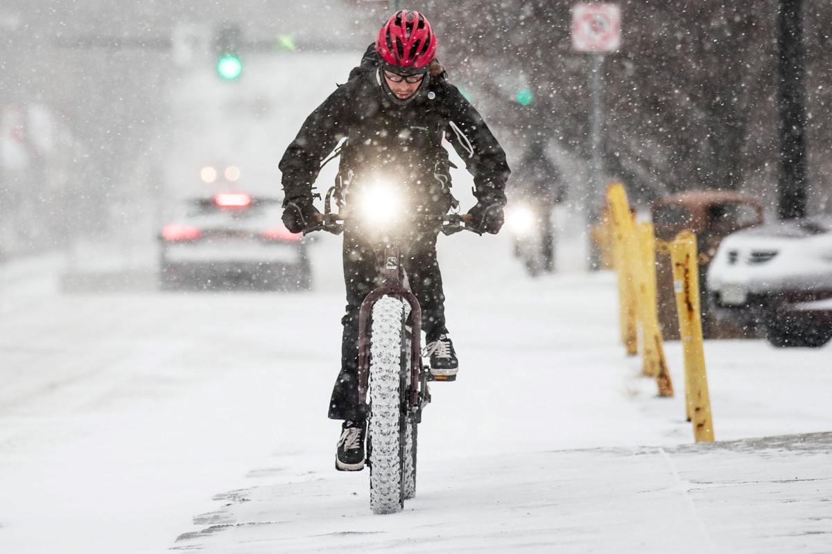 Kimball snow bike