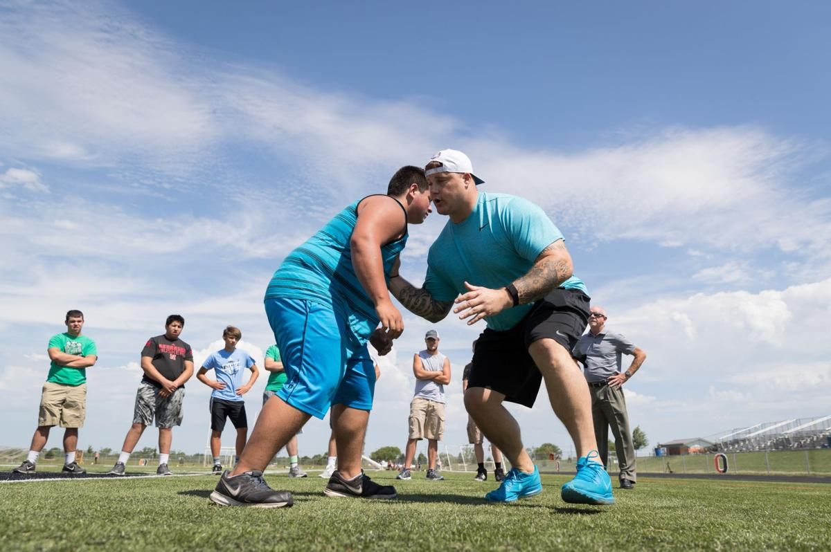 Fiery former Husker offensive lineman Richie Incognito doesn't disguise his past, works to share wisdom