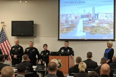 Largest-ever Omaha police recruit class begins training