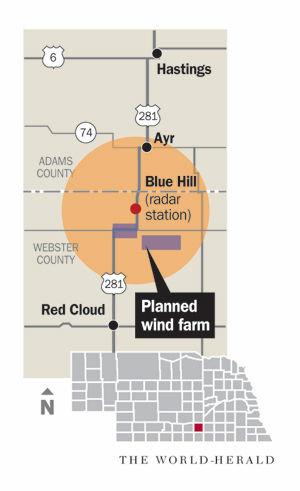 Weather Service Concerned Over Impact Of Nebraska Wind Farm On - Omaha nebraska weather radar