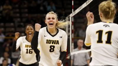 Lewis Central grad Reghan Coyle, Iowa volleyball have risen together