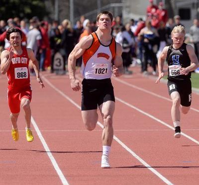 Nebraska recruit Gerry aims to be best on gridiron, track