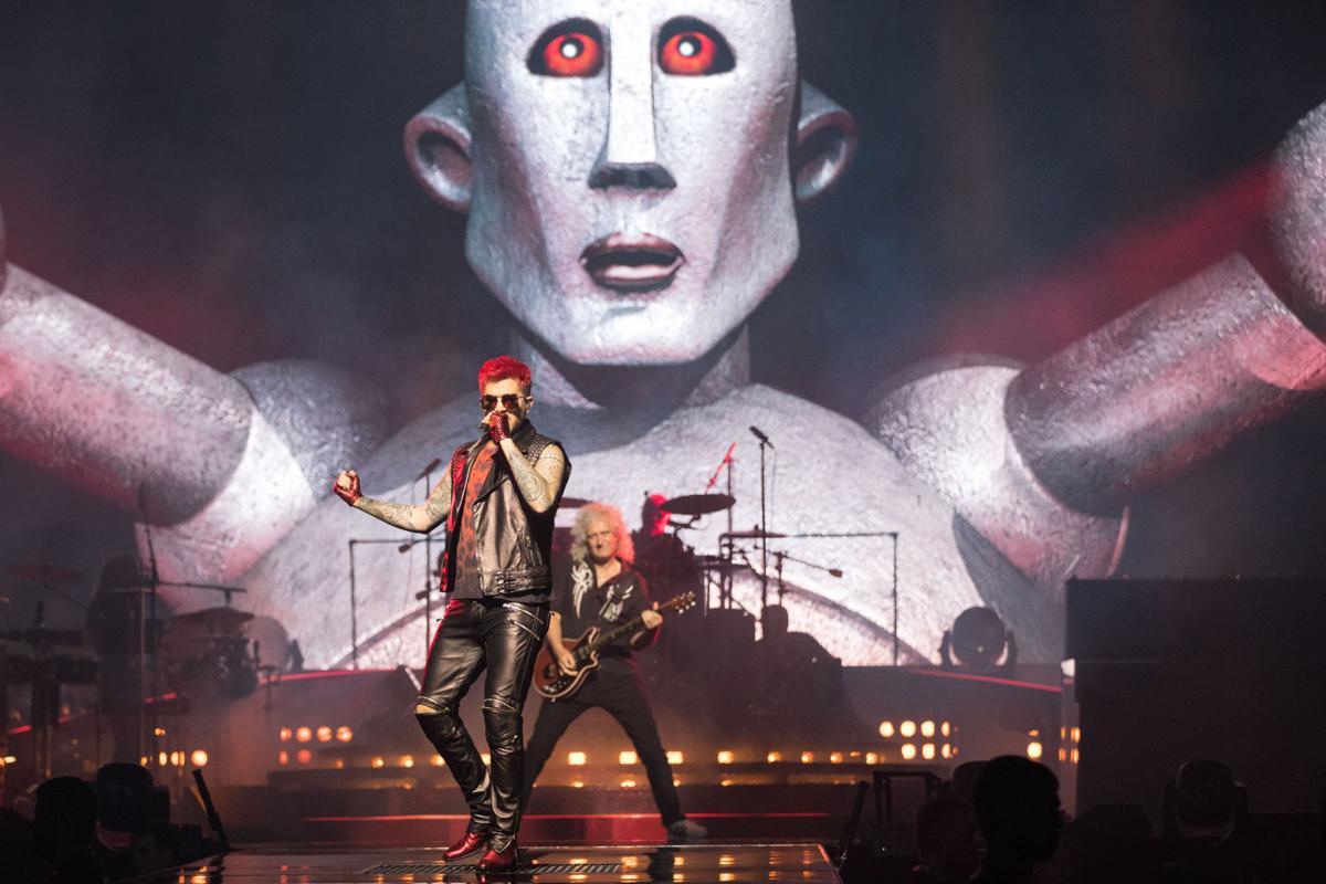 Photos: Queen + Adam Lambert in Omaha, July 8