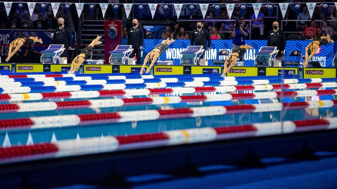 Swim Trials notes: Lincoln Pius X grad Caroline Theil finishes 26th in her first event