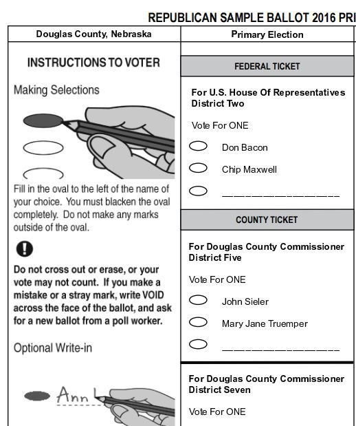 Grace: Douglas County's clean, simple ballot is a model for how ...