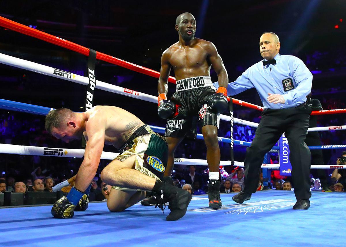 Crawford knocks down