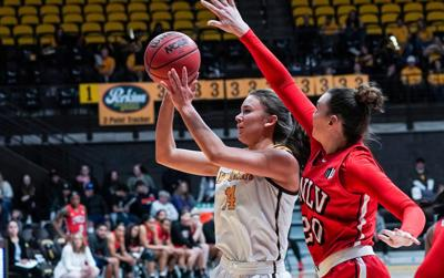 For ex-Westside star Quinn Weidemann, good things coming in 3s as Wyoming freshman