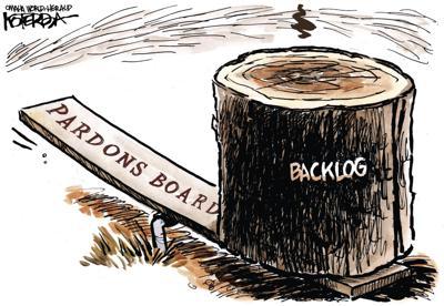Jeff Koterba's latest cartoon: Off balance