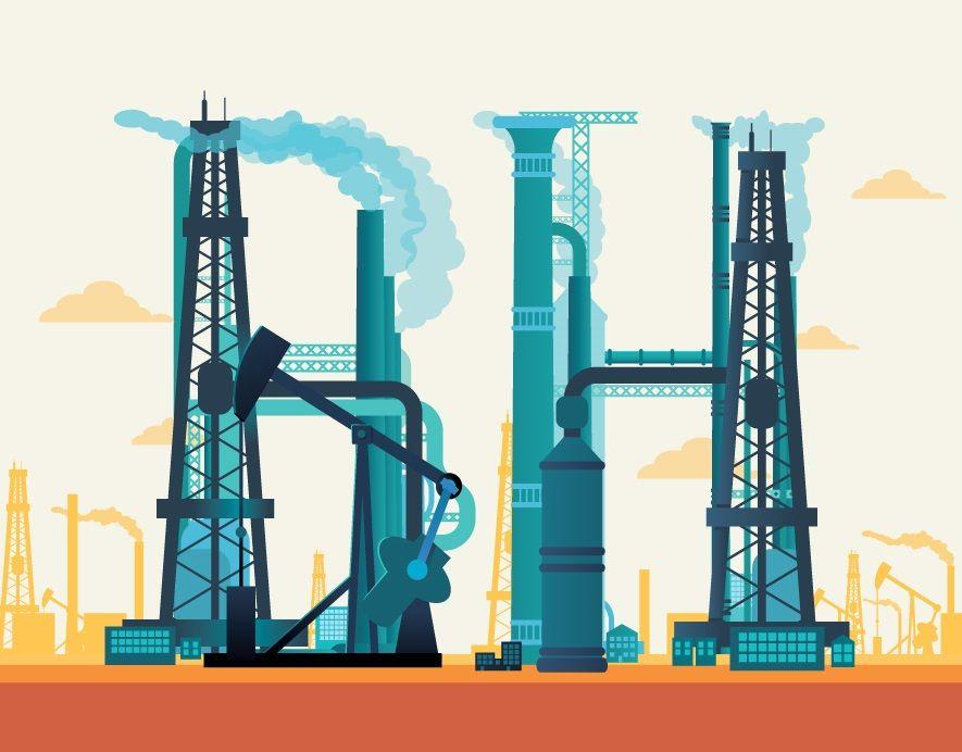 Berkshire oil illustration
