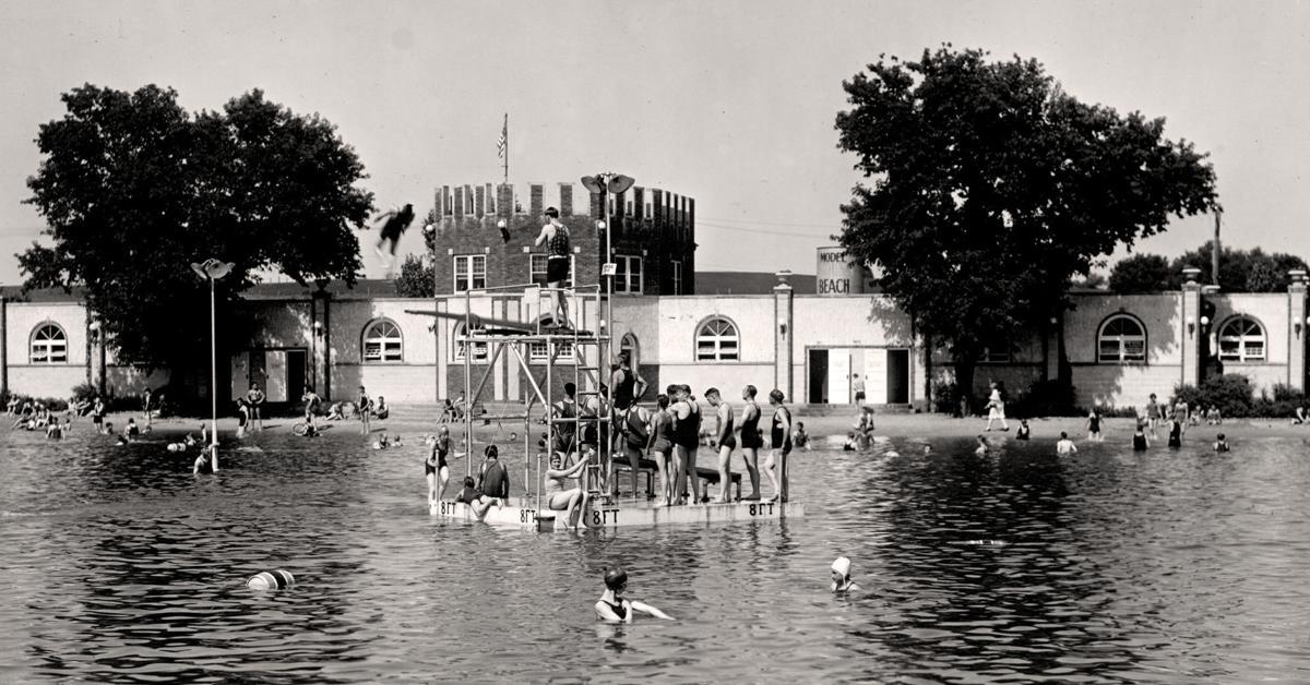 1932 swimming