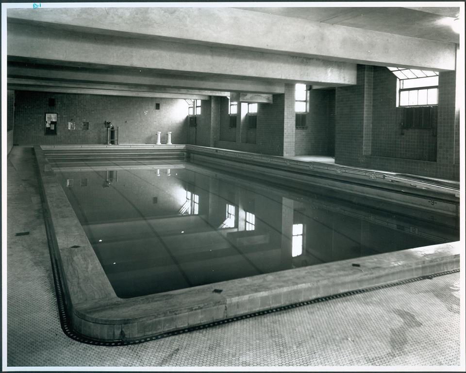 A pool at OPS headquarters