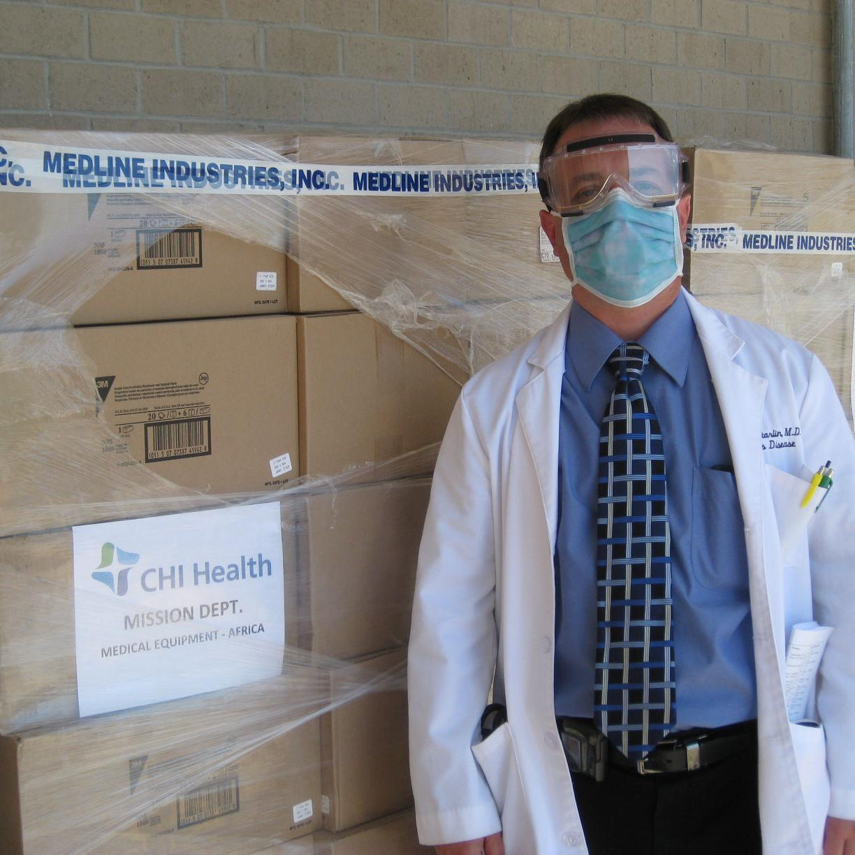 CHI Health donating medical supplies to help fight Ebola | Health