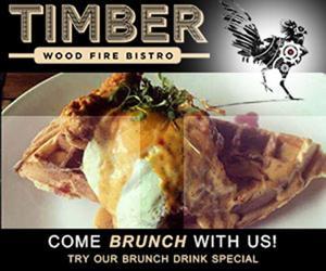 Timber Wood Fire Bistro | Weekend Brunch | Specials