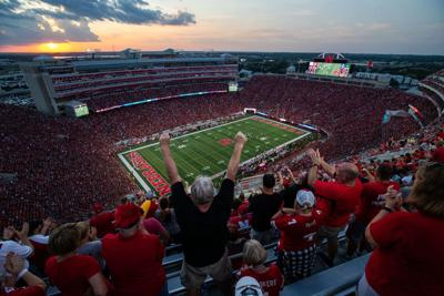 Nebraska football's scanned ticket totals stayed high, despite a slight drop for Wisconsin and Iowa