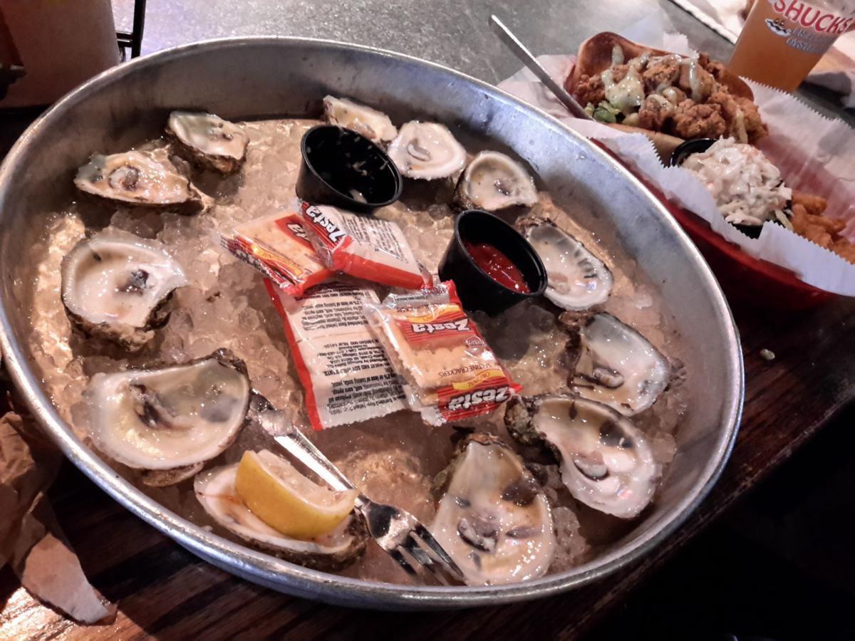 Shucks oyster bar