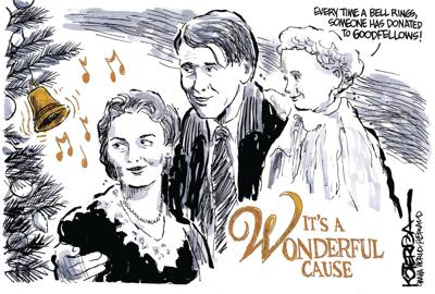 Jeff Koterba's latest cartoon: It's a wonderful cause (copy)