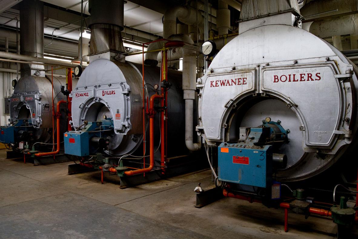 Bellevue East boilers