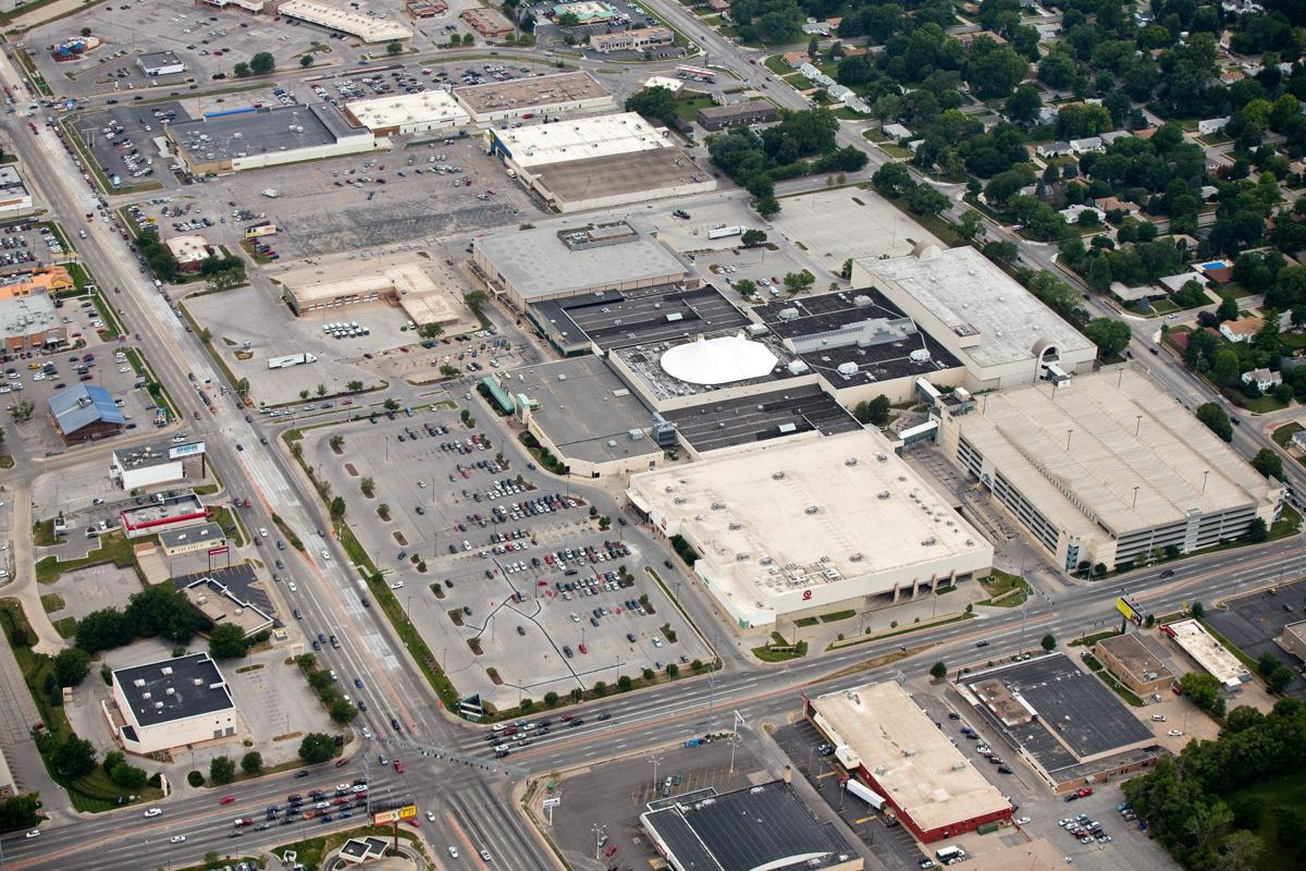 Crossroads Mall aerial