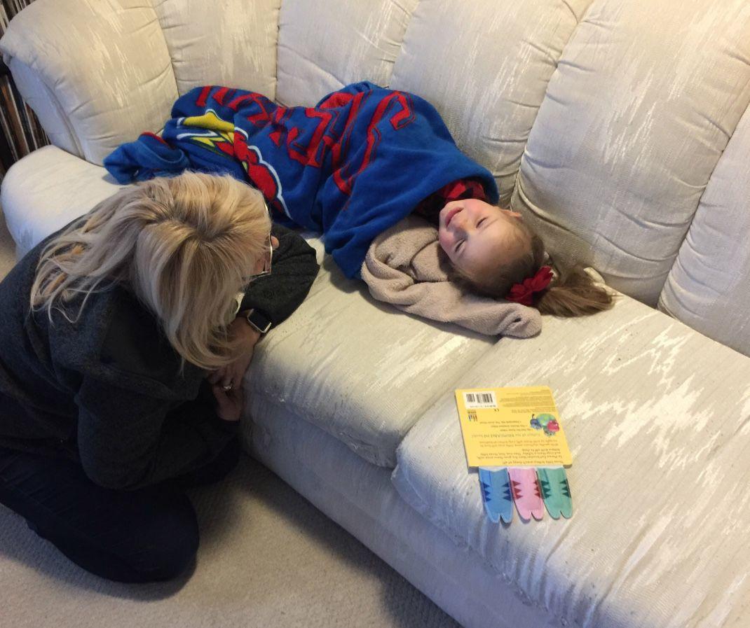 Lynn Kirkle with daughter Kate