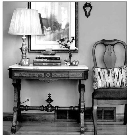 Old: Classic furniture pieces find ways into modern homes