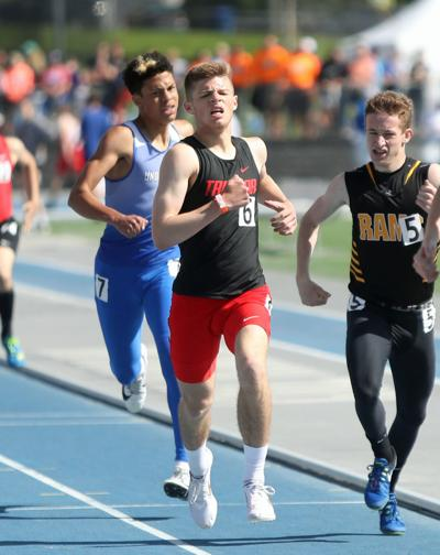 Jerry Jrgenson, Treynor, 800m, State Track, Drake Stadium, Des Moines, Iowa