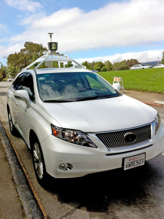 States take the wheel on driverless cars