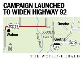 Wahoo man pushes for a wider, safer Highway 92   Nebraska
