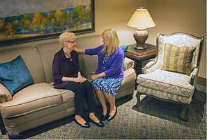 Heafey Hoffmann Dworak Cutler | Funeral Home | Mortuary | Crematory | Omaha | Visiting Room