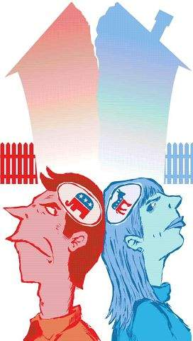 Maturity is key to surviving a mixed political relationship