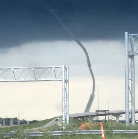Downtown Omaha: Rare Waterspout Near Downtown Omaha Causes Big Stir, No