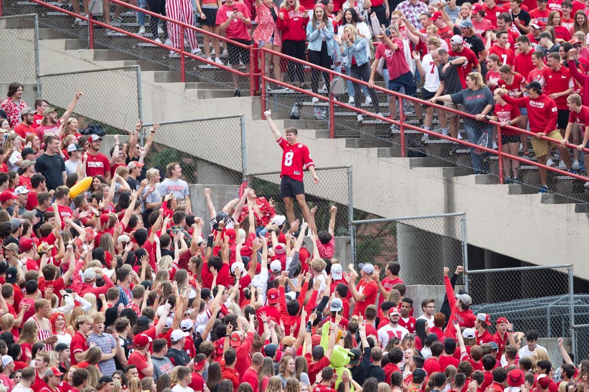 Nebraska student section