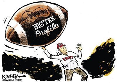 Jeff Koterba's latest cartoon: Going long