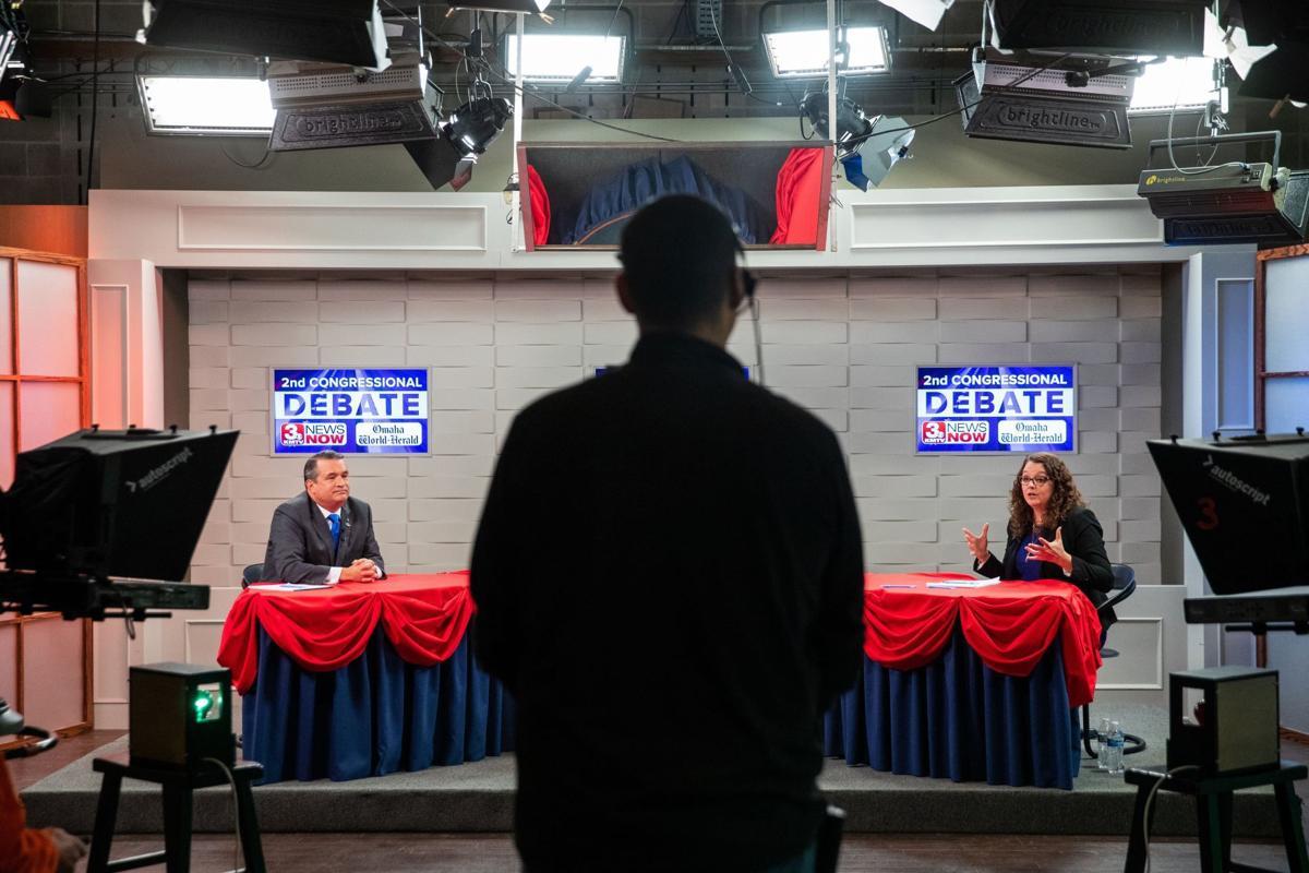 Bacon-Eastman debate photo