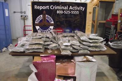 Nebraska State Patrol drug bust