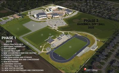 Gretna High stadium project