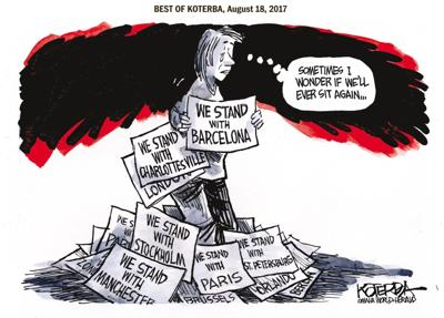 Best of Jeff Koterba's cartoons: Can't stand it