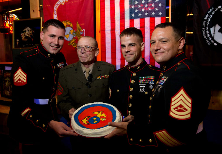 Marine Corps birthday a celebration of brotherhood, tradition