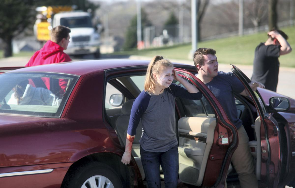 RHS mock crash warns of deadly consequences of drinking, driving
