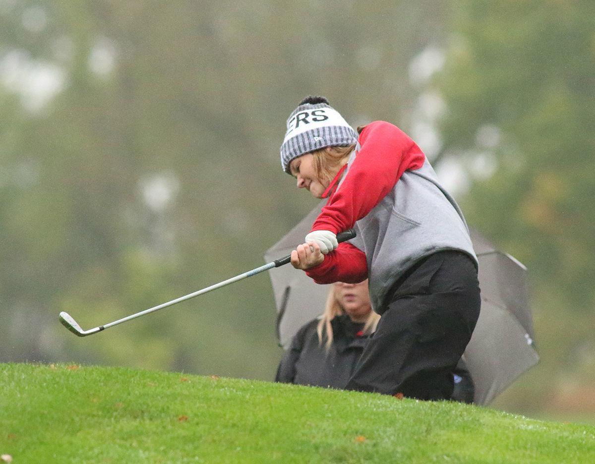 Photos: Class B Girls State Golf Tournament Monday