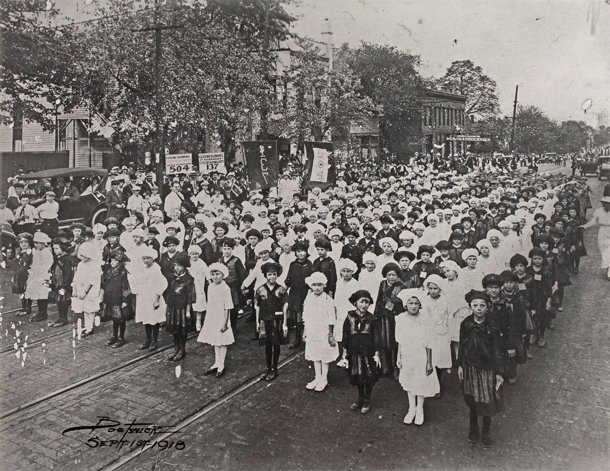 1918 Bohemian parade
