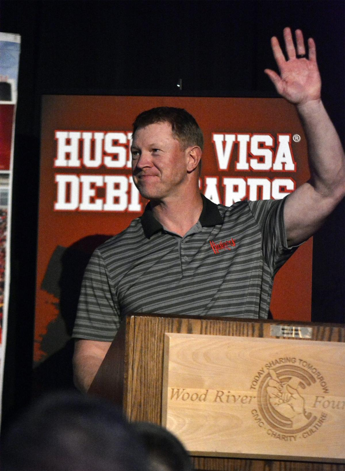 fe03f63f6f8 Scott Frost returns to hometown Wood River to reminisce with friends ...