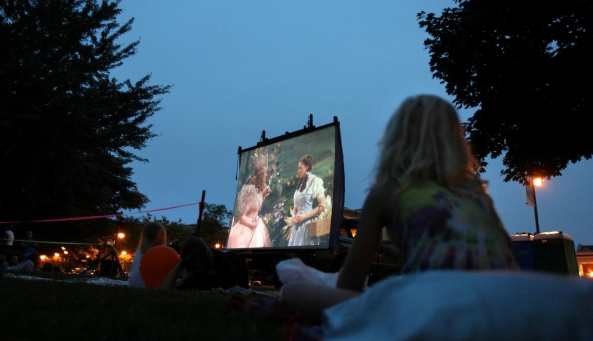 Watch a movie under the stars