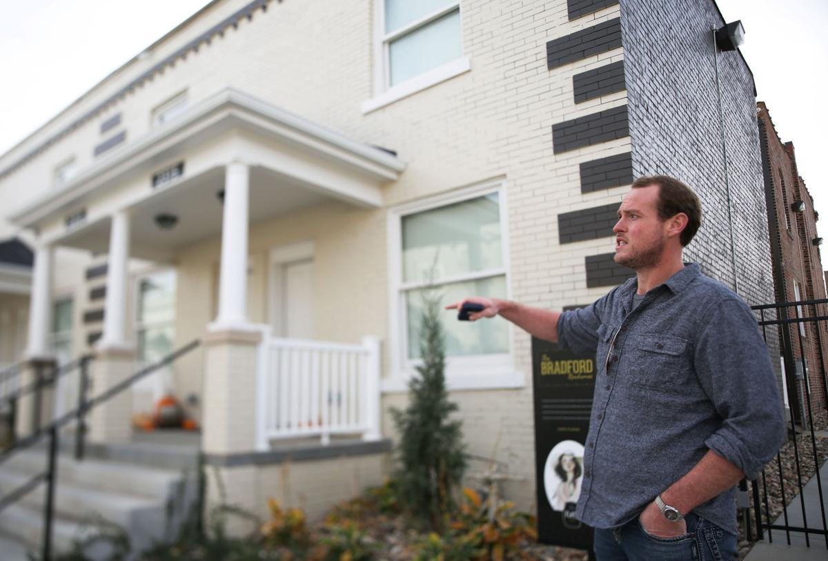 Brandon Johnsen, property manager, Flats on Howard