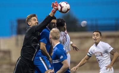 German keeper Paul Kruse has been a find for Creighton men's soccer
