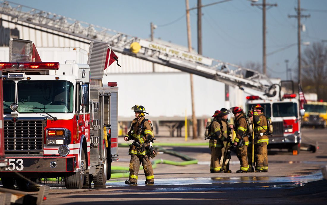 Fire at Nebraska Furniture Mart warehouse caused estimated 14