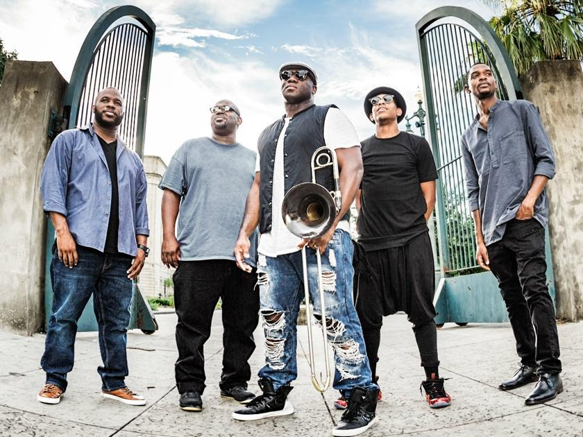 Big Sam's Funky Nation will open Jazz on the Green