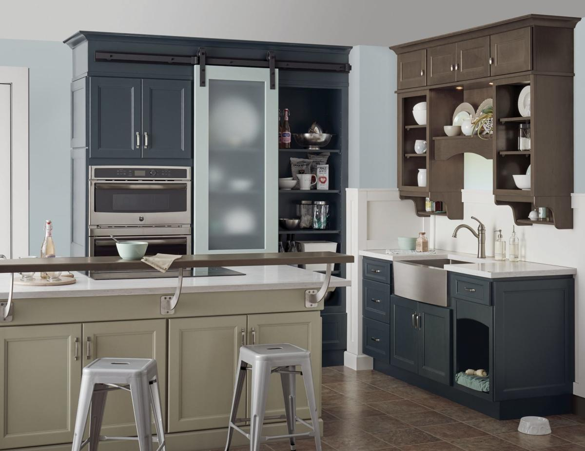 Move over, white cabinets. Color is coming | Inspired Living | omaha.com