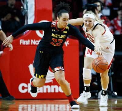 Husker women can't break through against Maryland; Terrapins coach Brenda Frese earns 500th win